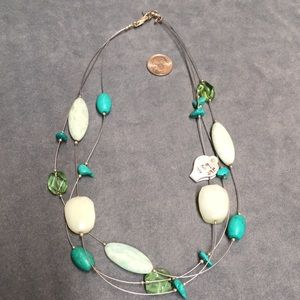 NWT Silpada necklace N2021 Sterling Silver/stones